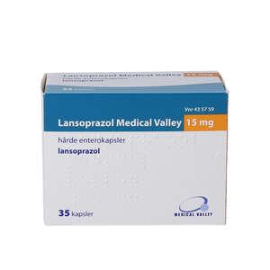 Lansoprazol Medical Valley 15 mg 35 stk