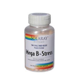 Solaray Mega B-stress kapsler