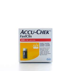 Accu-Chek Mobile Fastclix Lancetter 204 stk