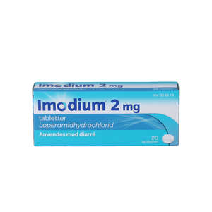 Imodium 2 mg 20 stk