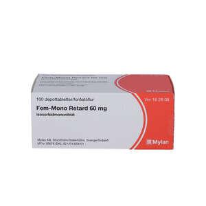 Fem-Mono Retard depot 60 mg 100 stk