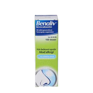 Benaliv næsespray 150 doser