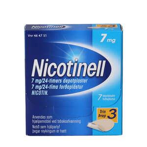 Nicotinell 7 mg/24 timer 7 stk