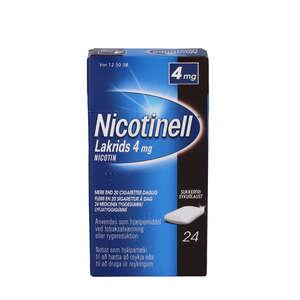 Nicotinell Lakrids 4 mg 24 stk