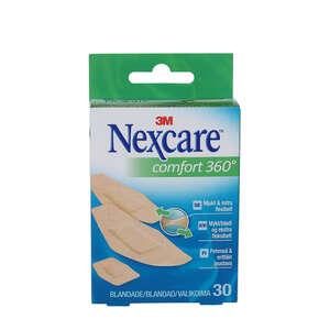 Nexcare Comfort Strips (3 str. 30 stk)