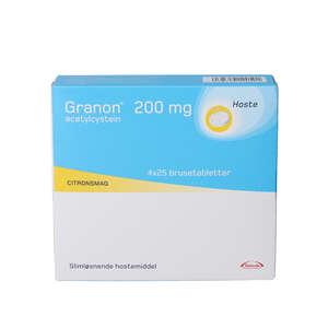 Granon 200 mg 4*25 stk