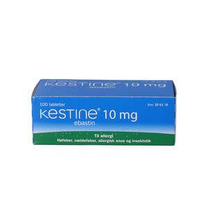 Kestine 10 mg 100 stk