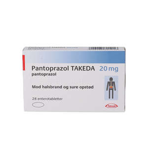 """Pantoprazol """"Takeda"""" 20 mg 28 stk"""
