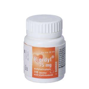 Hjerdyl 75 mg 110 stk