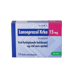 Lansoprazol KRKA 15 mg 14 stk