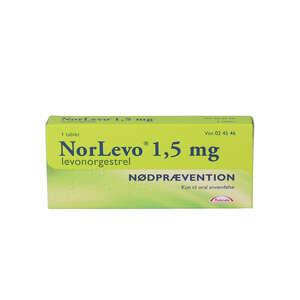 NorLevo (Takeda) 1,5 mg 1 stk