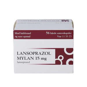 """Lansoprazol """"Mylan"""" 15 mg 56 stk"""