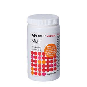 Apovit Multi tabletter (200 stk)