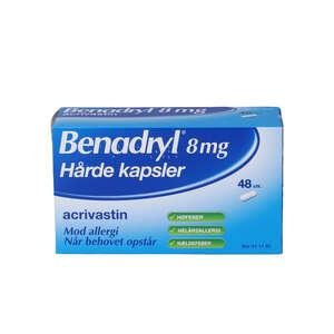 Benadryl 8 mg 48 stk