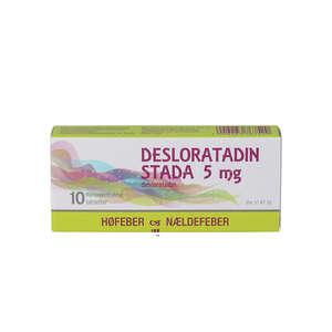 "Desloratadin ""Stada"" 5 mg 10 stk"
