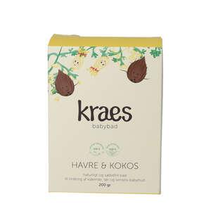 KRAES Babybad Havre & Kokos (200 g)