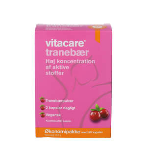 Vitacare Tranebær Kapsler