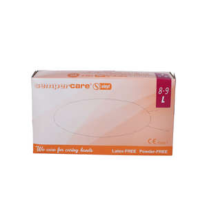 Sempercare Vinyl Handsker u/pudder (L)