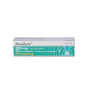 Mucolysin 200 mg 25 stk