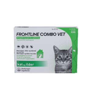 Frontline Combo Vet. (til kat) 3 stk