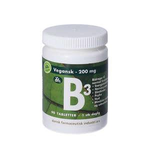 Vitamin B3 tabletter