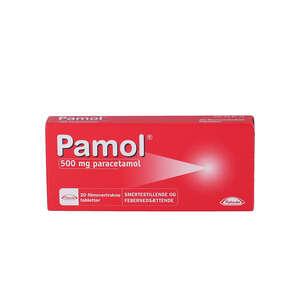 Pamol 500 mg 20 stk